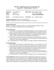 Health Psych Syllabus - Spring 2017(1) (1).doc