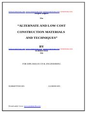 low-cost-construction-materials-and-techniques-civil-project-report-Students3k.com.docx