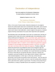 """a comparison of the declaration of independence and letter from the birmingham jail Independent recommended practice: cliff's ap workbook, diagnostic  martin  luther king claims in """"letter from birmingham jail"""" that """"it is an historical fact   in 2 – 3 pages compare elizabeth cady stanton's """"declaration of."""