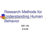 RESEARCH METHODS - huff