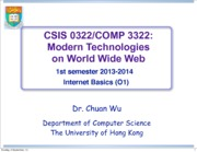 2_InternetBasics_CSIS0322_2013