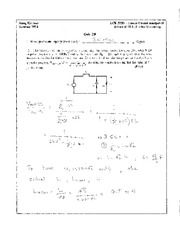 Quiz 29 Solution on Linear Circuit Analysis II