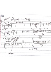 Managerial Finance Class Notes 8