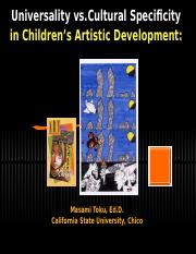 C3 jedit Children's Artistic Development original.ppt