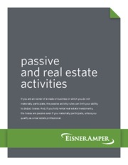 Passive_and_Real_Estate_Activities - Eisner