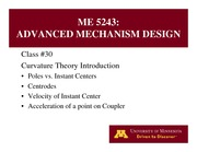 Lecture 30 on Advanced Mechanism Design