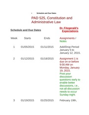 Schedule and Due Dates.docx January