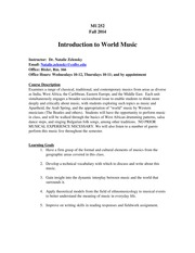 World Music Syllabus Fall 2014