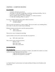 SSH105 - Chapter 2 Notes
