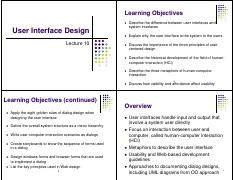 Lecture_10_-User_Interface_Design