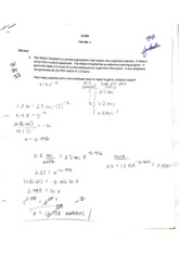 IENG220 Test 1 Spring15 Student Answers and Answer Key