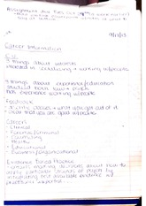 Evidence Based Practice Notes