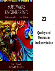 23 Quality and Metrics in Implementation.pptx
