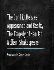 The Conflict Between Appearance and Reality- The Tragedy.pptx
