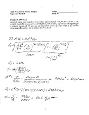 Exam 1 2010 Solution on Rockets and Mission Analysis