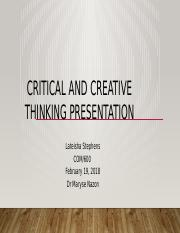 Critical and Creative Presentation1.pptx