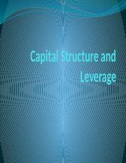 Capital Structure and Leverage.pptx