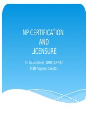 USW1_NURS_6565_NP_certification and Licensure.pptx
