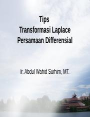 Tips Transformasi Laplace Pers Differensial.ppt
