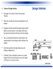 #3- Design Vehicles and Driver Performance.ppt