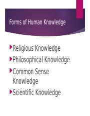 SOC 250  Competing Forms of Knowledge and the Research Process.ppt