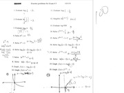 Practice Problems for Exam 3