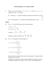 2013_H2_Mathematics_A_Level_Paper_1_(Solutions)