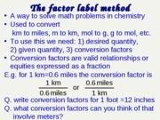 factor-label-method