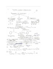 Aldehydes, Ketones, and Carboxylic Acid Notes