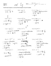 Printables Algebra 2 Worksheets With Answer Key factoring quiz review with key 2 pages transformation wkst 7 4key