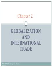 Chapter 2 - Globalization and International Trade