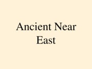 Ancient Near East (1)