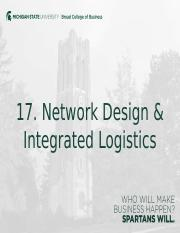netowork design and integrated logistics.pptx