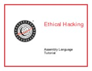 CEHv5 Assembly Language Tutorial