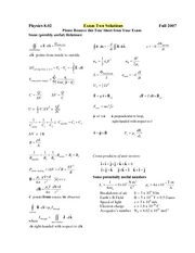 Exam2_2007Fall_Solutions