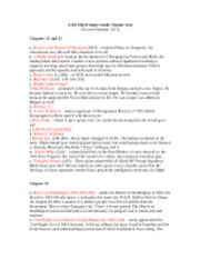 Third study guide-AAAD 150