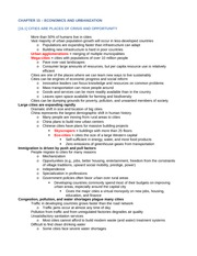 ENV200 Chapter 15 Notes