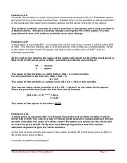 Tutorial 7 Binomial Option Pricing Model Ch 12 & 18.docx