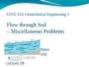 Lecture19_Flow_though_Soil_4_Problems
