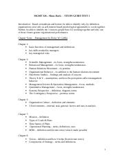 MGMT 326 STUDY GUIDE TEST 1 (2)