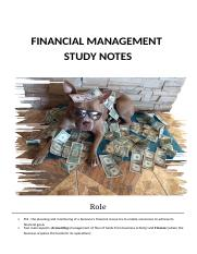 Financial Management Study Notes.docx