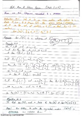 Null, Row and Column Space Exam Revision Notes 7