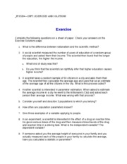 PSY3204 CHPT.EXERCISES AND SOLUTIONS