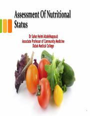 Assessment of Nutritional Status.pdf