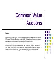 Lecture 9 Common Value Auctions.pptx