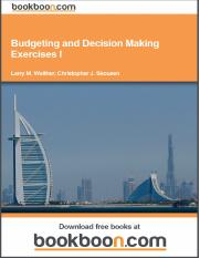 budgeting-and-decision-making-exercises-i