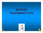 Lecture 13 - MSP430 Development Kits