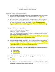 Relevance and Moral Reasoning Quiz - KEY.docx