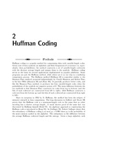 huffman coding notes