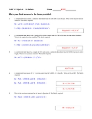 ARC322 Quiz 4 KEY
